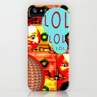 iPhone Cases featuring LOL by Cool Miky