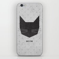 MEOW iPhone & iPod Skin