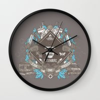 Say My Name Wall Clock