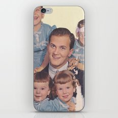 He's a family man iPhone & iPod Skin