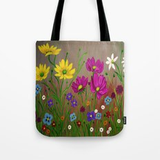 Spring Wild flowers  Tote Bag