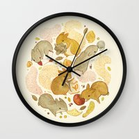Things Squirrels Probabl… Wall Clock