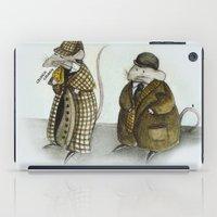 Sherlock Holmes wisdom iPad Case