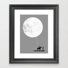 Do You Want The Moon? Framed Art Print