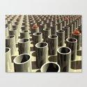 Stockyard of Cylinders Canvas Print