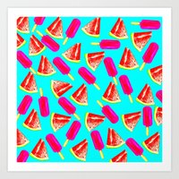 Summer Fun 2 Art Print