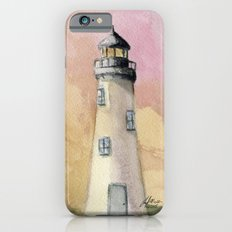 Lighthouse At Sunset iPhone 6 Slim Case