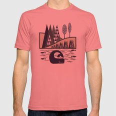 Master Of The Sea Mens Fitted Tee Pomegranate SMALL