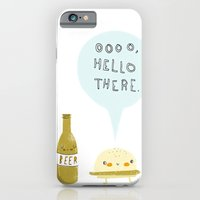 burger and beer iPhone 6 Slim Case