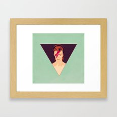 David Bowie/Aladdin Sane Framed Art Print