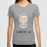 A-DUMBLEDORE-ABLE.  Womens Fitted Tee Tri-Grey SMALL