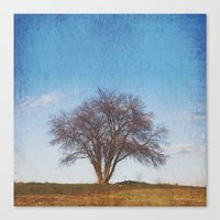 Simple Tree Canvas Print