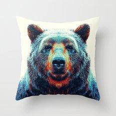 Bear - Animal Throw Pillow