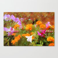 Every Little Garden Seem… Canvas Print