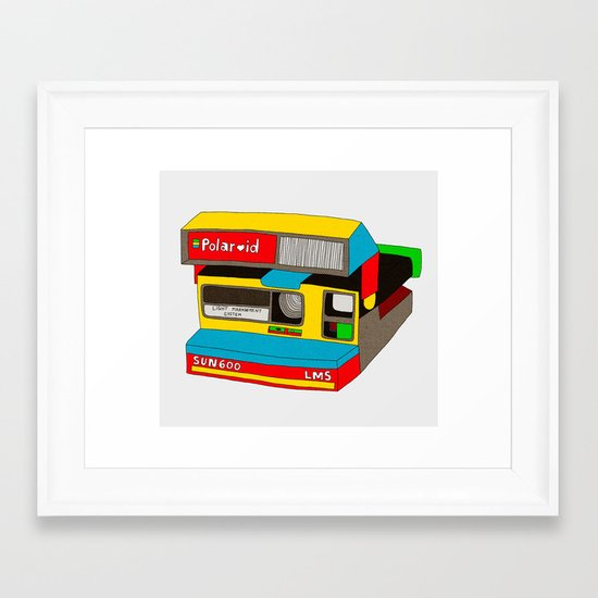 Captures Great Moments (color toy) Framed Art Print