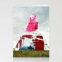 Bear Salute Stationery Cards