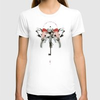 EROS Womens Fitted Tee White SMALL