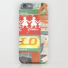 Music, Music, Music iPhone 6 Slim Case