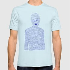 Mummy Mens Fitted Tee Light Blue SMALL