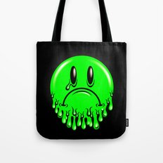 Slimey - neon green Tote Bag