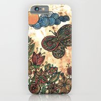 iPhone & iPod Case featuring Magical garden by Juliagrifol designs