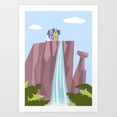 Pixar/Disney Up (Print 1) Art Print