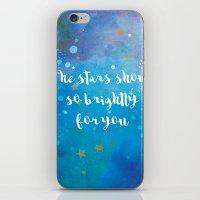 The Stars Shone So Brigh… iPhone & iPod Skin