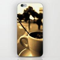 Mon Paris - Un Café à … iPhone & iPod Skin