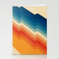 geometric Stationery Cards featuring Barricade by Tracie Andrews