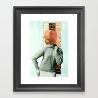 Gnash Framed Art Print