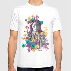 Indian girl Mens Fitted Tee White SMALL