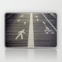 Brooklyn Bridge Footpath Laptop & iPad Skin