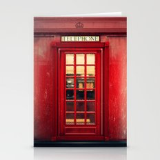 Magical Telephone Booth Stationery Cards