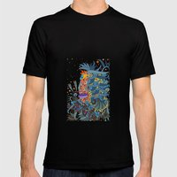 - Sea Ghost - Mens Fitted Tee Black SMALL