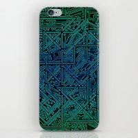 Bleen Grue iPhone & iPod Skin