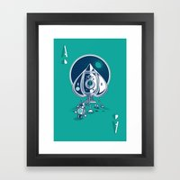 Ace of Spaces Framed Art Print