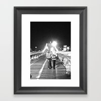 WHITEOUT : Young & In Fa… Framed Art Print