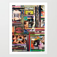 Art Print featuring Visual Sequence #036 by M A S A N O R I