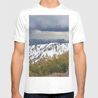Sonora Peak Mens Fitted Tee White SMALL