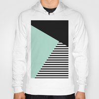Mint Color Block With St… Hoody