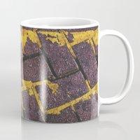 Yellow Lines Mug