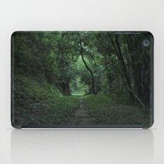 green portal iPad Case