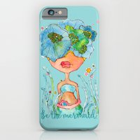blue girl -- she's a gentle one. iPhone 6 Slim Case