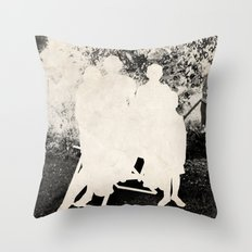 the secret family Throw Pillow