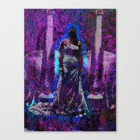 Torture My Ears, Summon My Fears Canvas Print