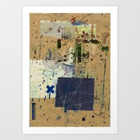 Sedimenti 12 Art Print