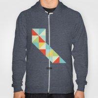 Geometric California Hoody