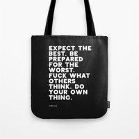YOUR OWN THING Tote Bag