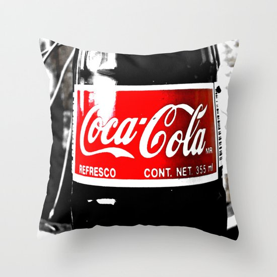 Coca-Cola Nostalgia Throw Pillow