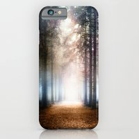 iPhone Cases featuring Enchanted Forest by Viviana Gonzalez